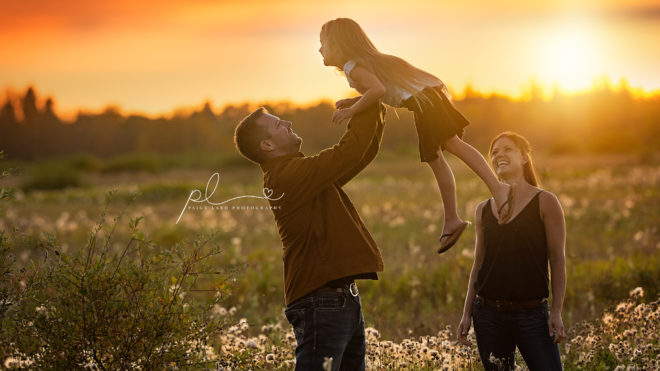 Family Photographer Nipawin - Golden Hour